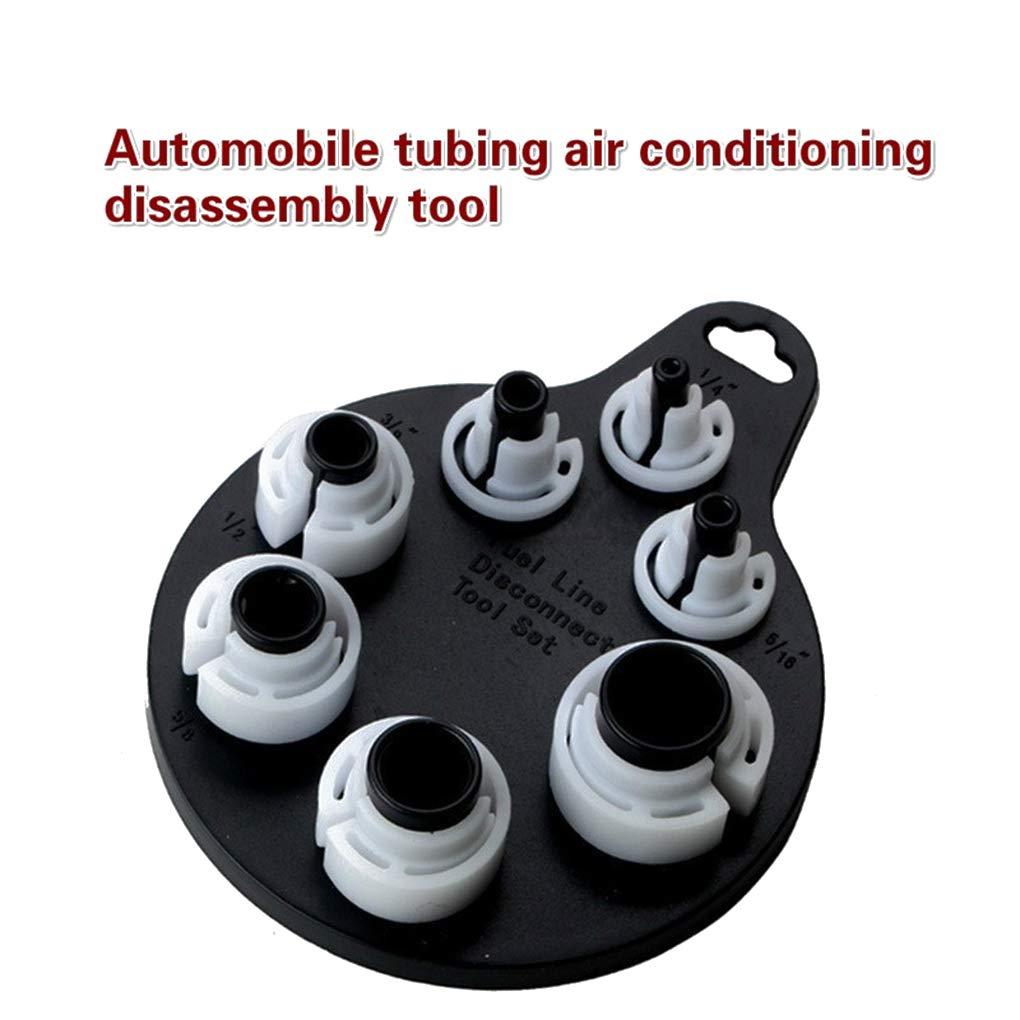 Bomcomi 7pcs Set Klimaanlage Kraftstoffleitung abklemmen Remover /Ölrohr ausbauen Auto A//C-Reparatur-Werkzeug