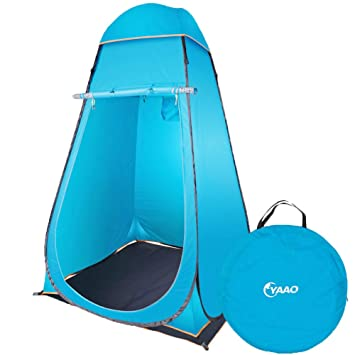 YAAO Instant Pop-Up Privacy Shelter Outdoor Changing Room Tent Blue  sc 1 st  Amazon.com : pop up tent sports direct - memphite.com