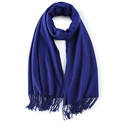 a1de904d77273 ZEALIYUE Cashmere Shawl Scarf/Poncho for Women, Light Wrap Stole and Throw  Blanket Scarfs