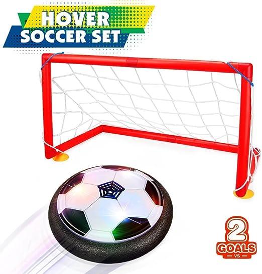 Joy-Jam Juguetes para Niños 5-10 años, Hover Ball Goal Set Air ...