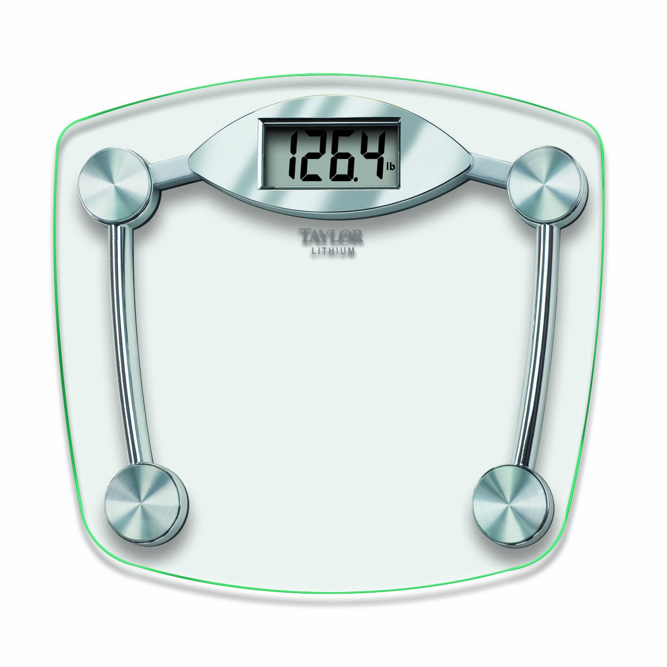 Amazon scale bathroom - Amazon Com Taylor Glass And Chrome Digital Scale Health Personal Care