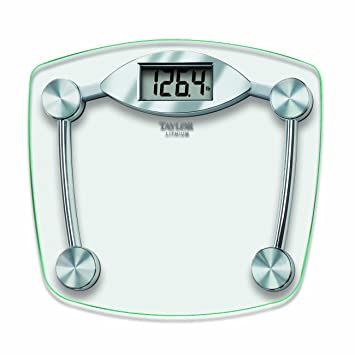 Superb Taylor Glass And Chrome Digital Scale