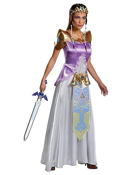 Horror-Shop Disfraz de Princesa Zelda L: Amazon.es: Juguetes ...