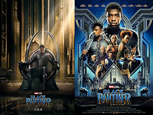black panther movie character posters