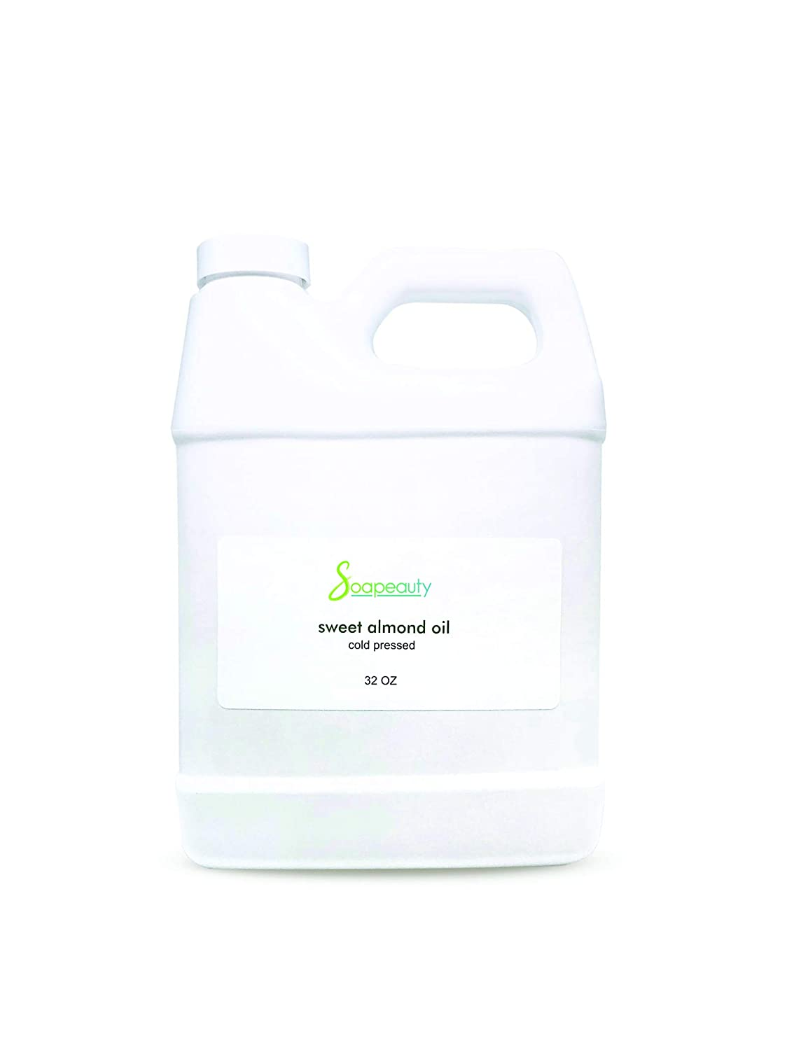 SWEET ALMOND OIL ORGANIC CARRIER COLD PRESSED REFINED NATURAL 100% PURE (32 OZ)