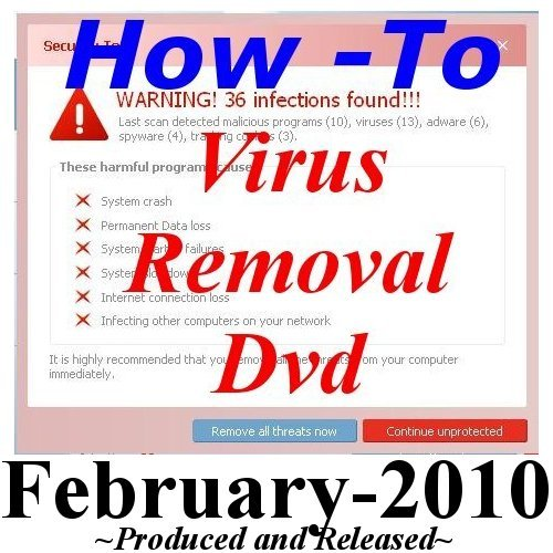 ware, AntiVirus HOW-TO-VIDEO on DVD, & Computer Software Removal CD, Ever Wonder How a Pro Removes Viruses & Spyware? -I'll Show You How- ()
