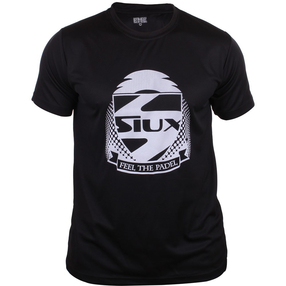 Siux Camiseta Entrenamiento Negra: Amazon.es: Deportes y aire libre