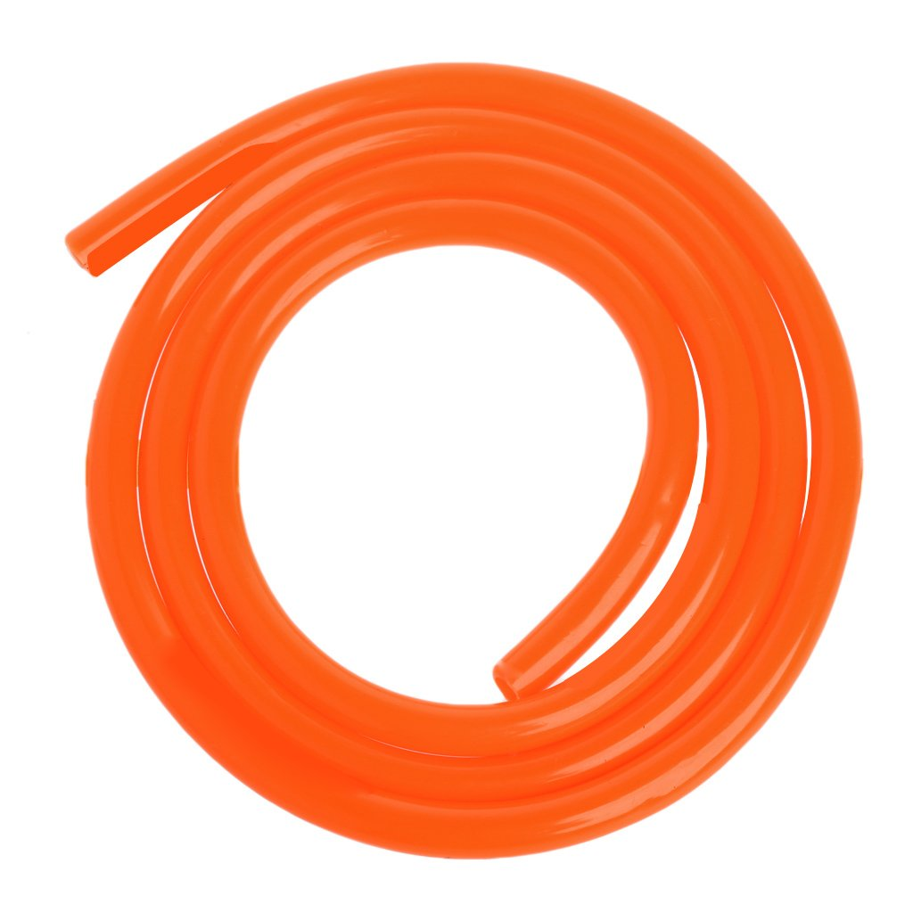 Forgun 1m Motorcycle Bike Fuel Gas Oil Delivery Tube Hose Petrol Pipe 5mm I//D 8mm O//D
