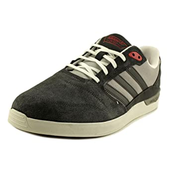 7a2305250a02 adidas Men s Zx Vulc Dark Grey Heather Scarlet Ankle-High Fashion Sneaker -  9M