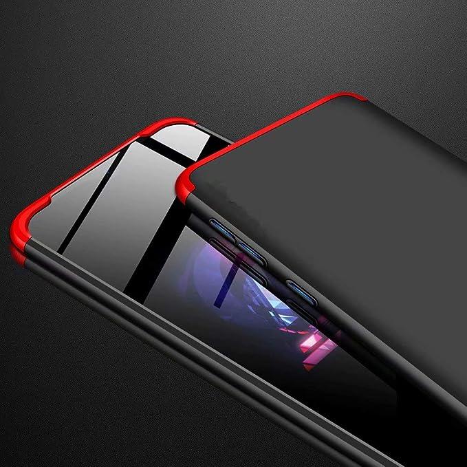 3 en 1 Hard PC Caja Cover Resistente al Desgaste+Regalar 2*HD Vidrio Templado Carcasa Case-Rojo Azihone Funda Compatible Samsung Galaxy S10 Plus con 360/°Todo Incluido Anti-Scratch