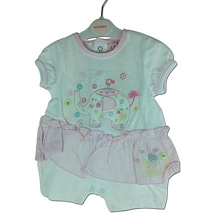 Zip Zap – Pelele de elefante recién nacido, bebé niña Body Pelele de bonito diseño