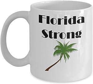Florida Strong Coffee Mug Hurricane Irma Cup Gift for Floridian