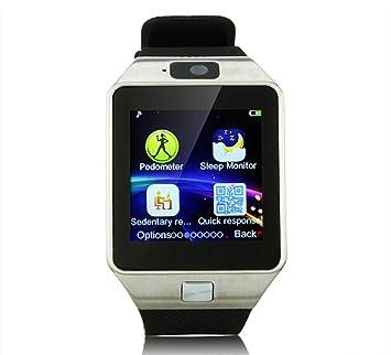 smartwatch DZ09 inteligente bluetooth para iPad/samsung/108/androide teléfono inteligente indossabili Reloj mobile syn sim PK GT08 GV18 ACFUN M25: ...