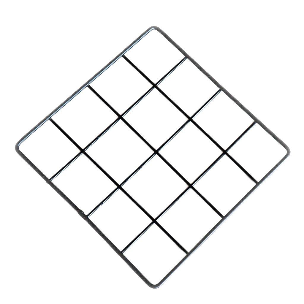 Amazon.com: MagiDeal Multifunction Metal Mesh Grid Panel,Wall Decor ...
