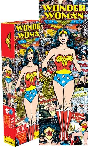 Aquarius Wonder Woman Retro Slim 1000 Piece Jigsaw Puzzle