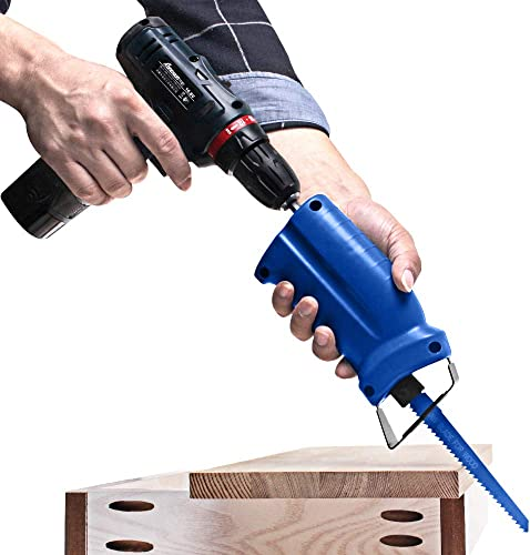AUTOTOOLHOME Reciprocating Saw Adapter Electric Drill Attachment Power Tool Accessorie