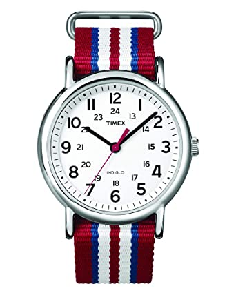 c7a6ebb66150 Amazon.com  Timex Analog Unisex Watch - Weekender Slip-Thru