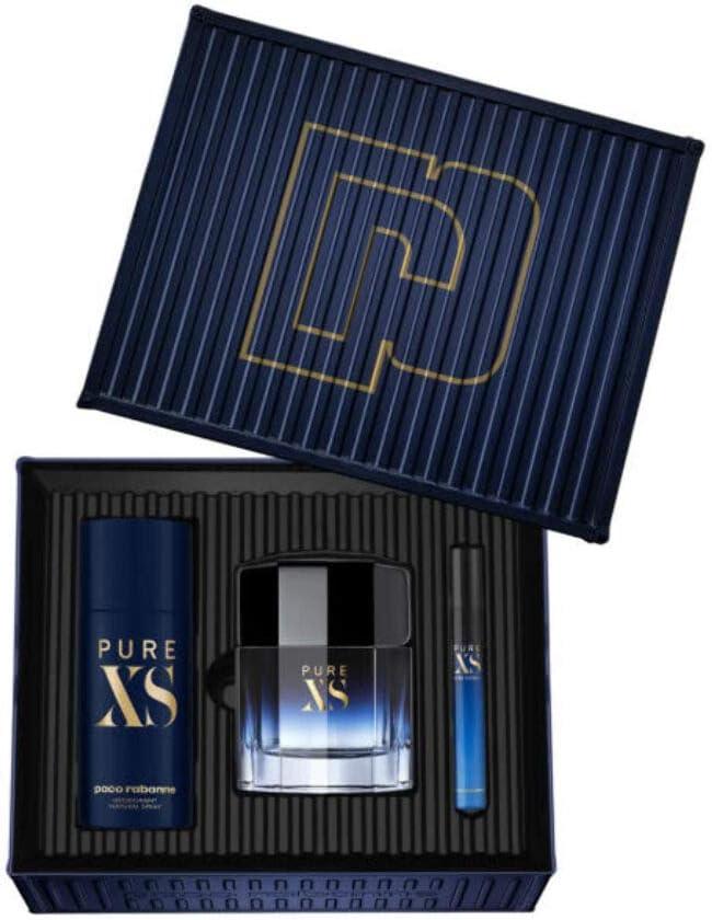 Paco Rabanne Pure XS Lote 3 Piezas 0.2 g: Amazon.es