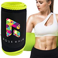 ROSERAIN Sweat Band Waist Trainer for Women & Men Waist Trimmer Gym Sweat Belts...