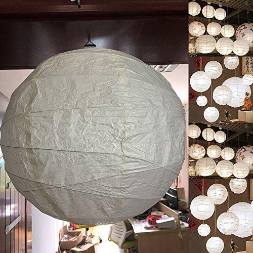 SODIAL Pantalla colgante 45 x 45 x 45 cm blanco papel