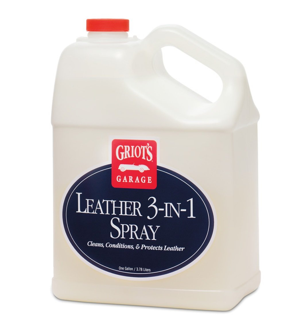 Griot's Garage 10964 Leather 3-In-1 Spray Gallon