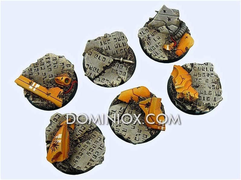2 Round 40mm Ancient Bases - *MicroArtStudio*