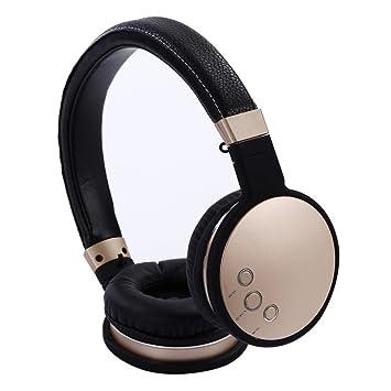 LQQAZY Auricular Inalámbrico Portátil Control De Volumen Video MP3 / Teléfono Móvil/TV Auricular,