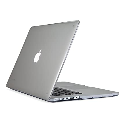 buy popular 7cd53 5e9c2 Speck Products SeeThru Hard Shell Case for MacBook Pro with Retina Display  15-Inch, Clear