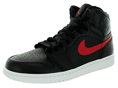 jordan retro 1 red and black