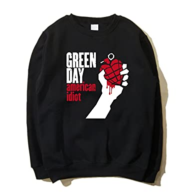 CosDaddy ® Green Day American Idiot Herbst Winter Schwarz Sweatershirt  Pullover Cosplay Kostüm (S)