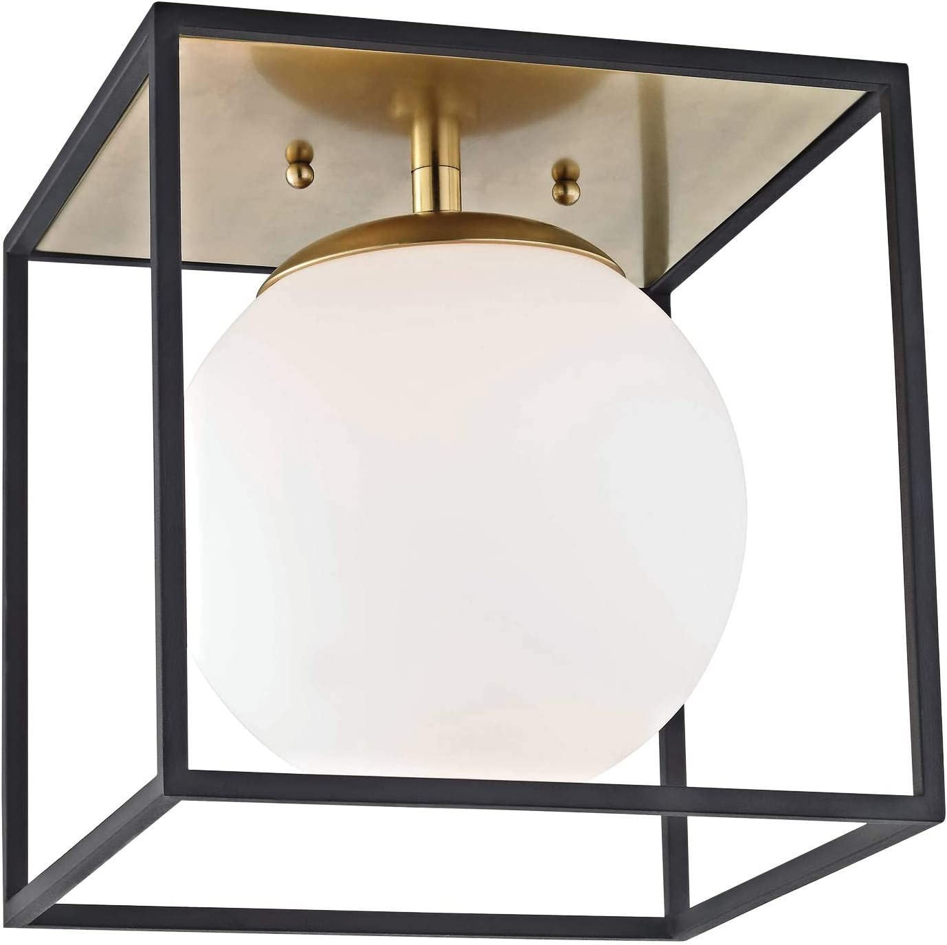 Shop Contemporary Modern One Light Flush Mount from Amazon on Openhaus