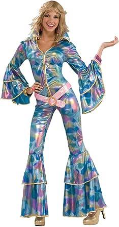Forum Novelties Women's Disco Momma 70's Costume