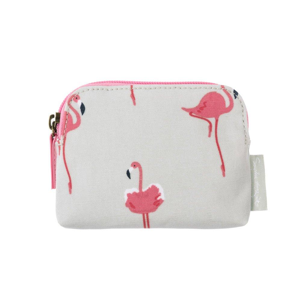 Sophie Allport Oilcloth Wallet Purse - Flamingos design Sophie Allport Ltd