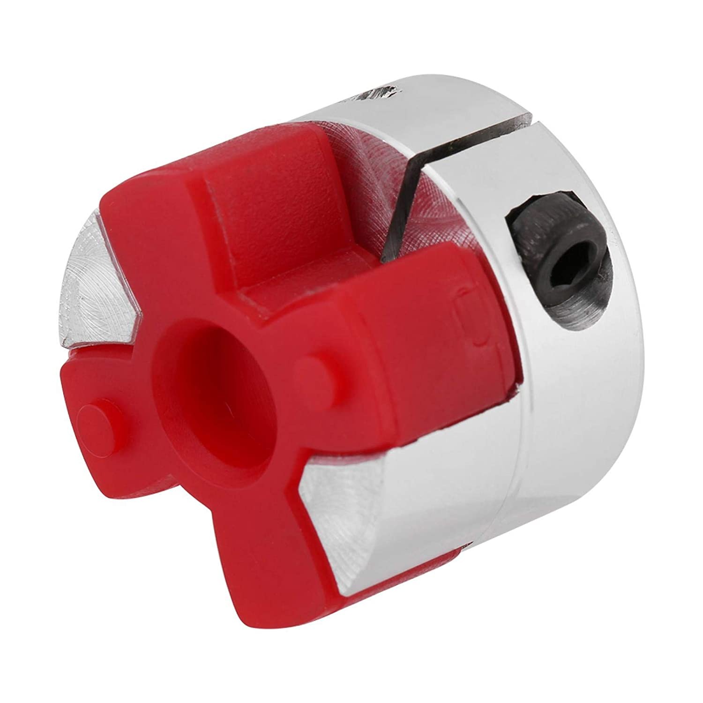 Aluminum Alloy Plum Shaft Coupling Flexible Coupler Motor Connector Joint for 3D Printer DIY Encoder CNC Machine 8mm-8mm