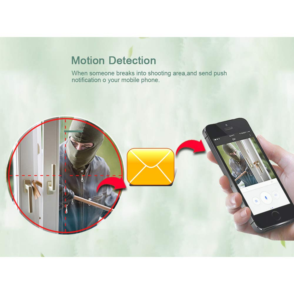 Amazon.com: DZSF Hd 720p V380 Cámara de seguridad ...