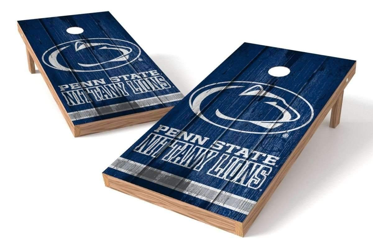 PROLINE NCAA College 2' x 4' Penn State Nittany Lions Cornhole Board Set - Vintage by PROLINE