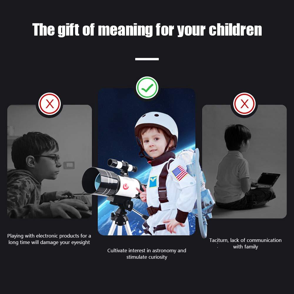 et les amateurs dastronomie TOPQSC t/élescope pour enfants 70mm 150X-15X pour enfants//d/ébutants Kit de t/élescope de voyage t/élescope militaire professionnel Le meilleur cadeau pour les enfants
