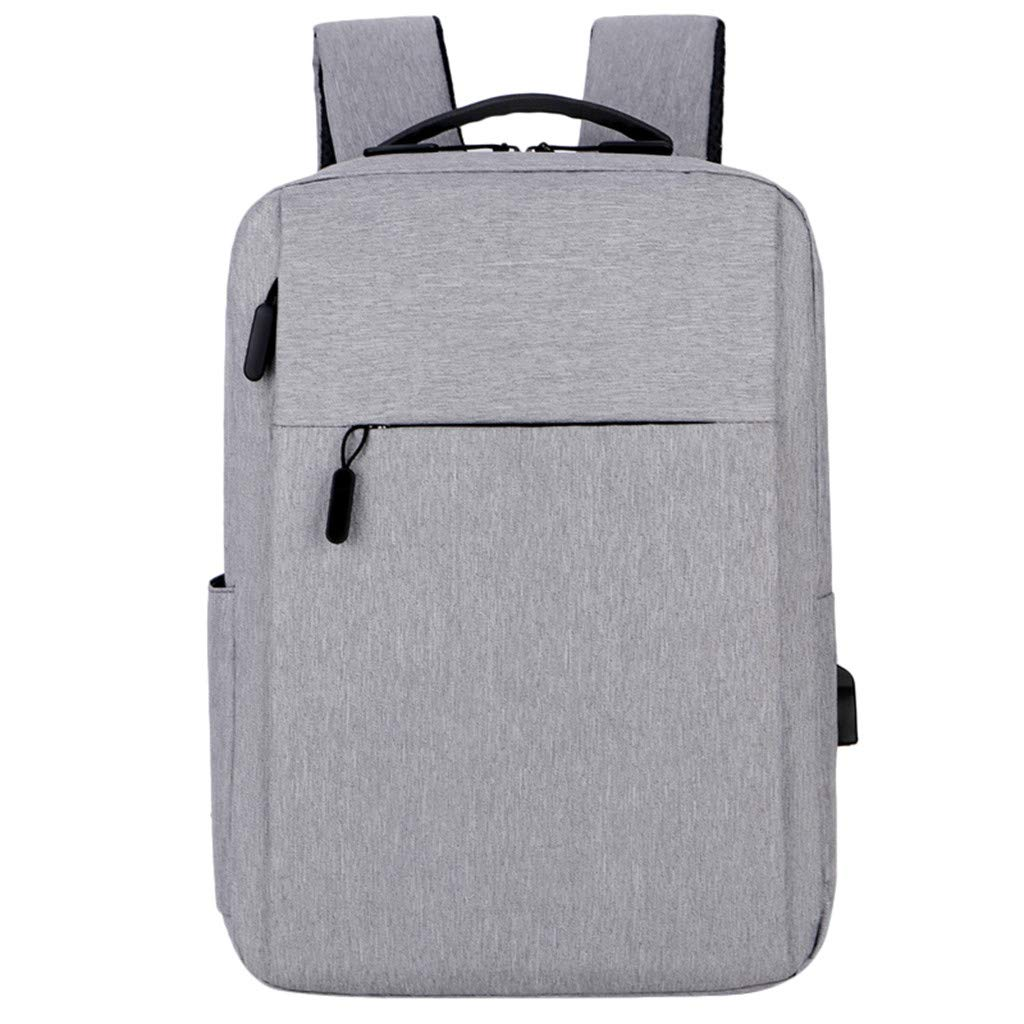 Pinleg Business Bags Multi-Functional Men Backpacks Travel Bag Women School Bag Fashion Taygeer Carry On Handle Case for Computer Notebook MacBook (Gray)