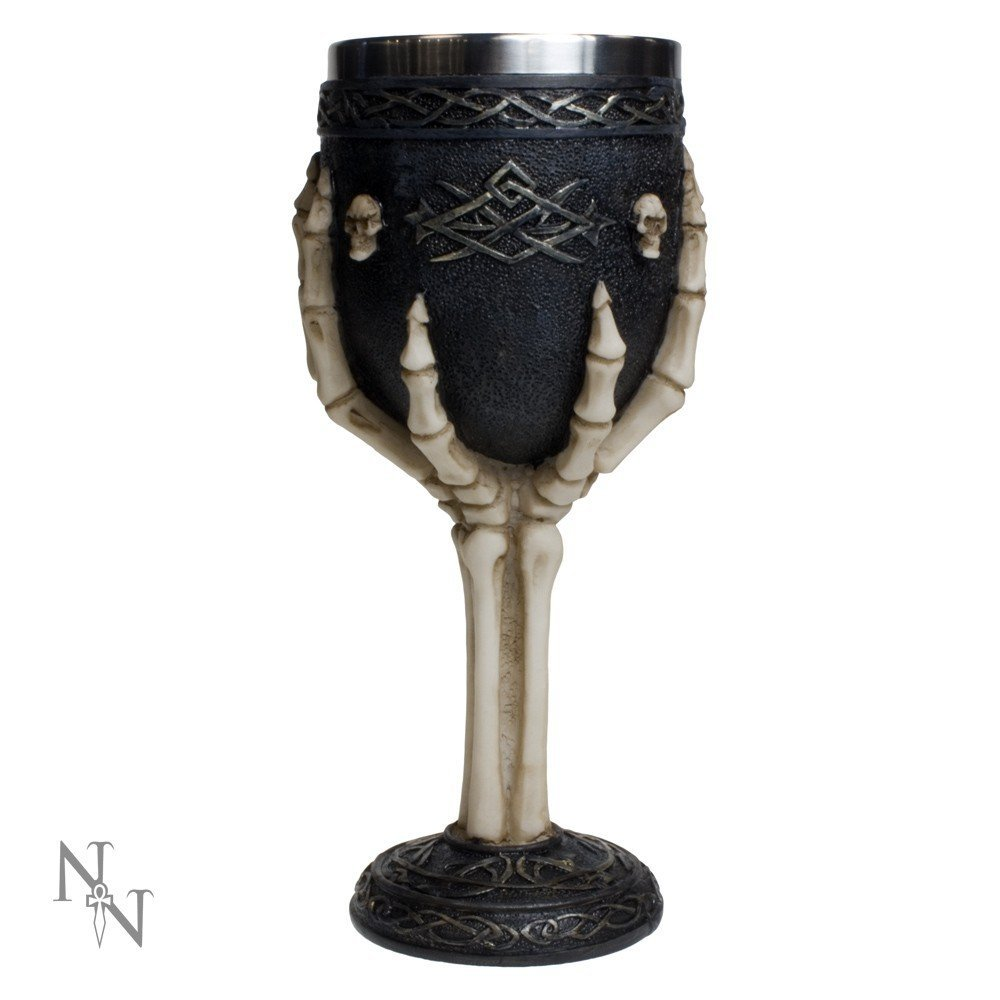 Nemesis Now Tribal Skeleton Goblet Grail Standard by Nemesis Now