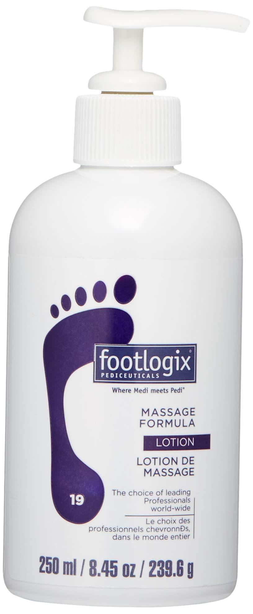 FOOTLOGIX Massage Formula Lotion, 8.45 oz