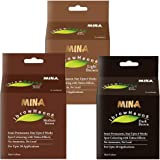 Mina Ibrow Henna Color Combo Set For Hair Coloring (Light Brown, Medium Brown, Dark Brown)