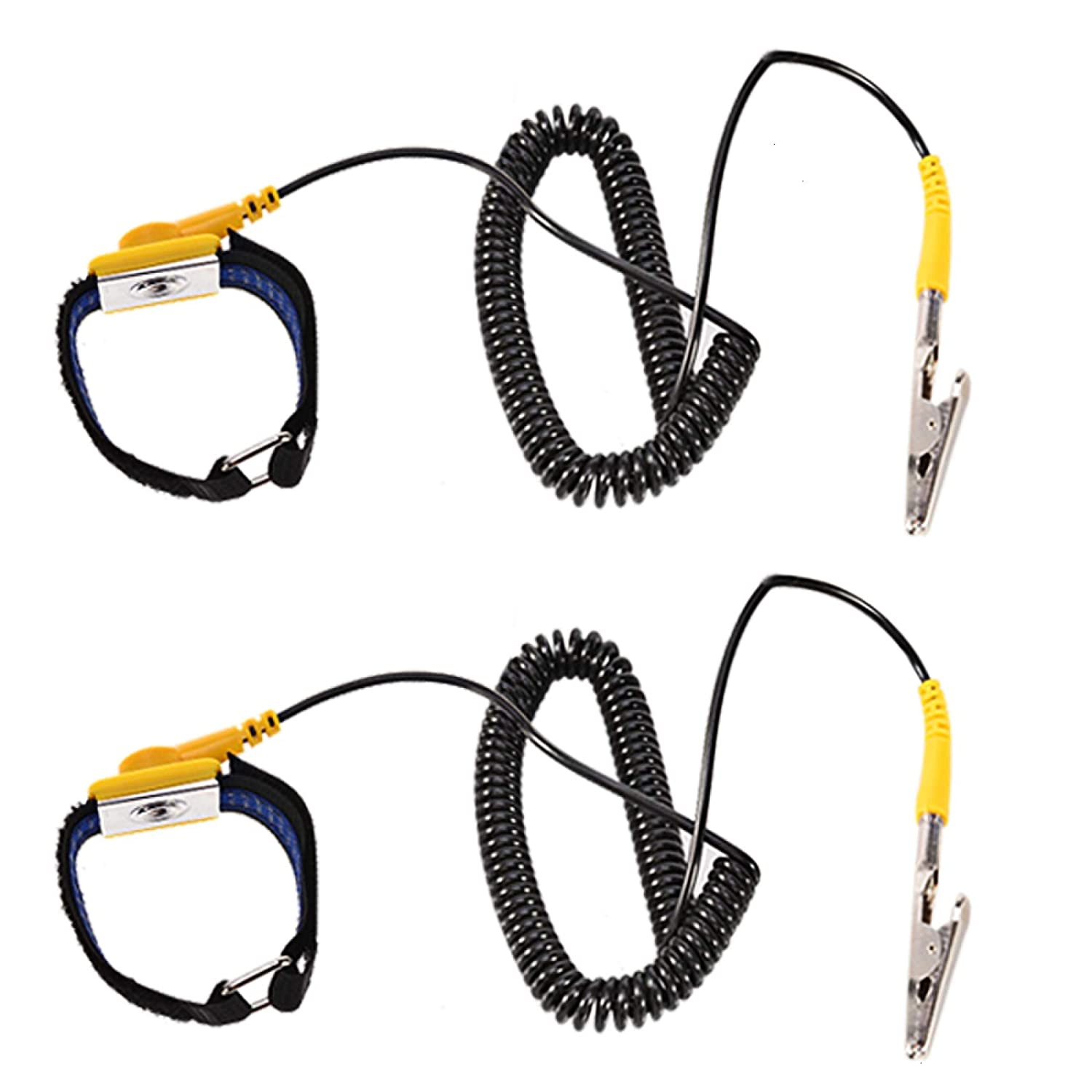 Power Tool Accessories Professional Sale Power Tool Accessories Anti Static Esd Strap Wrist Strap For Working On Electric Devices With Grounding Wire And Alligator Clip Selected Material