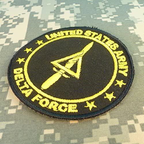 Call of Duty COD Delta Force US Arm/ée Operational Detachment Delta SFODA-D SFG Hook-and-Loop /Écusson Patch