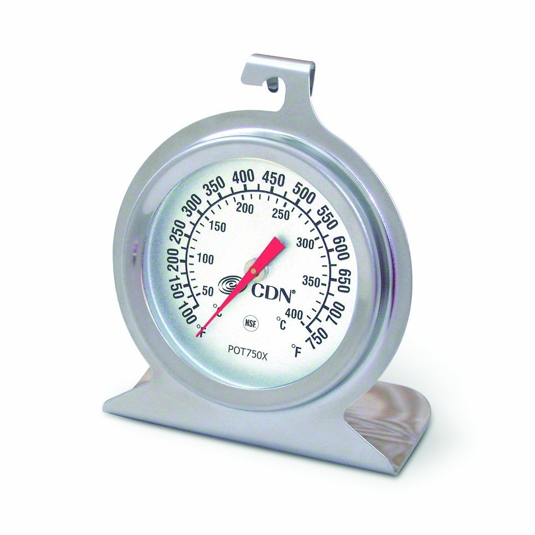 CDN POT750X High Heat Oven Thermometer (Pack of 2) FBA_POT750X-2