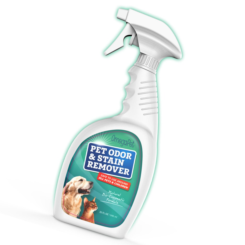 Amazon: Pet Urine Remover And Odor Neutralizer  Best Used As Cat Urine  Remover, Dog Urine Remover And Stain Remover On Carpet & Hardwood