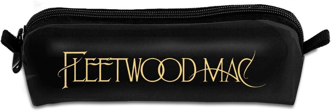 Estuche Pencil Case, Flee Six The Wood Are Mac Logo Pencil Pen Case Pouch Box School Organizer Makeup Cosmetic Bag: Amazon.es: Equipaje