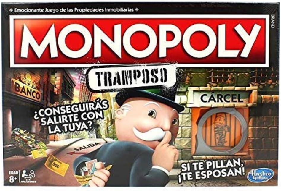 ¡HORA DE JUGAR! Monopoly Tramposo Hasbro