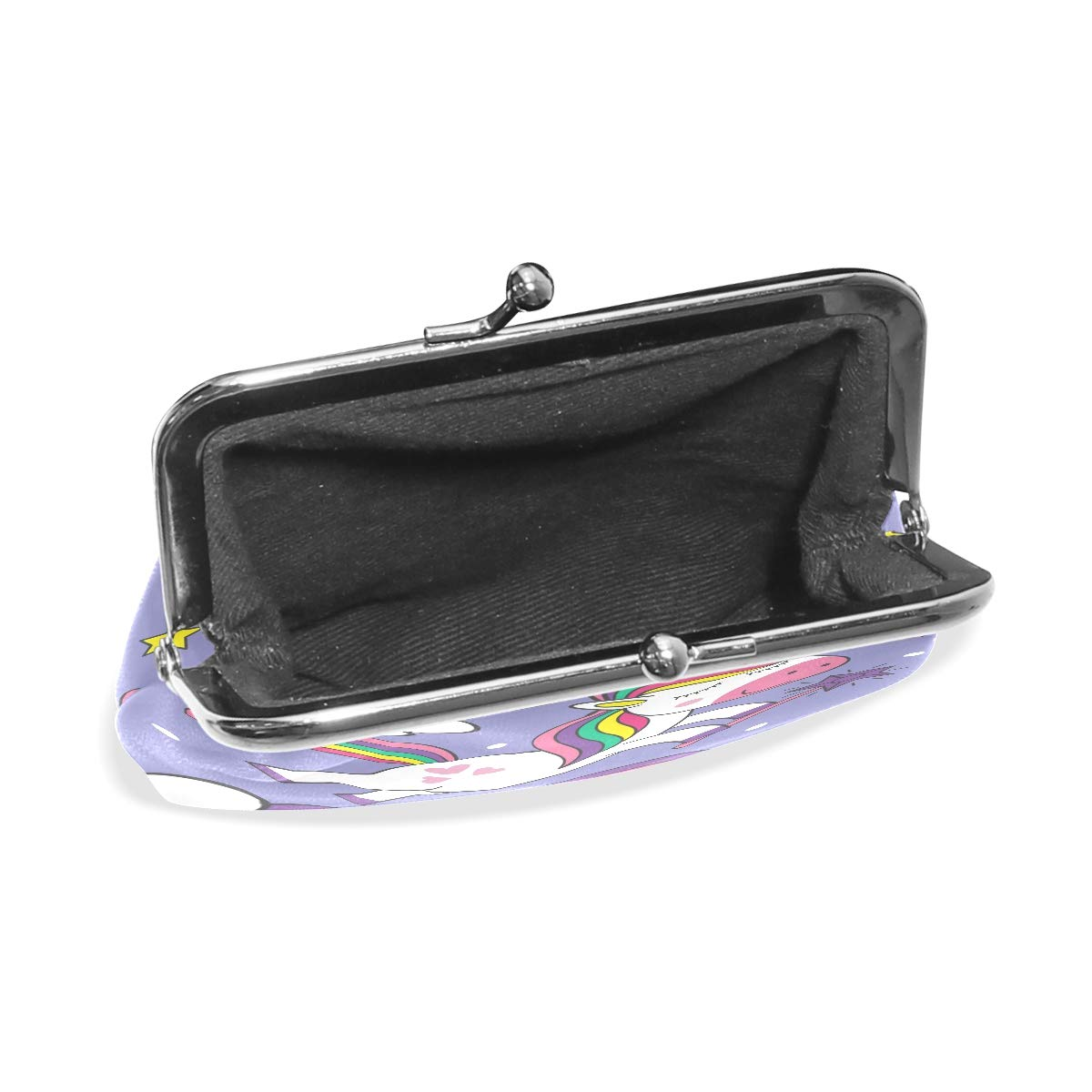 Fashion Womens Coin Purse Unicorn Rainbow Vintage Pouch Mini Purse Wallets