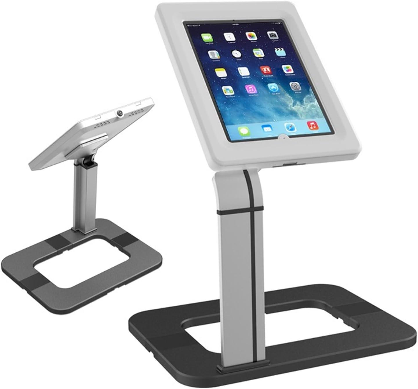 "Maclean MC-644 - Soporte de sobremesa para Tablet iPad 2/3/4/Air Galaxy 9.7""-10.1"" con Estuche antirrobo"