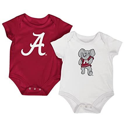 ff46628af Amazon.com  Colosseum NCAA Short Sleeve Baby Bodysuit 2-Pack-Newborn ...
